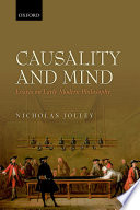 Causality and Mind