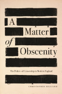 A Matter of Obscenity