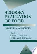 Sensory Evaluation of Food Book