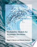 Probability Models For Economic Decisions Second Edition