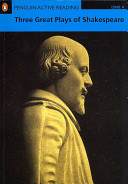 Three great plays of Shakespeare. Level 4. Con CD-ROM