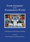 From Antiquity to the Postmodern World Book