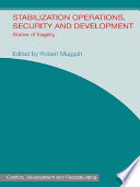 Stabilization Operations, Security and Development