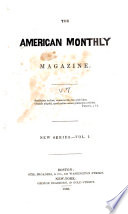 The American Monthly Magazine Book