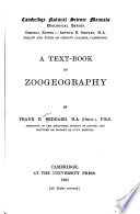 A Text Book Of Zoogeography