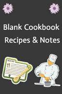 Blank Cookbook Recipes   Notes Book PDF