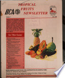 Tropical Fruits Newsletter