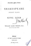 Select Plays  King Lear Book