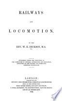Railways and locomotion
