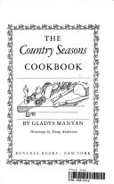 The country seasons cookbook