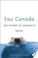 Eau Canada Book