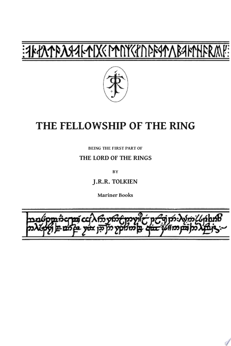 The Fellowship of the Ring banner backdrop