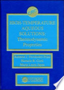 High-Temperature Aqueous Solutions