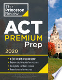 Princeton Review ACT Premium Prep  2020