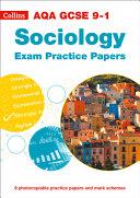AQA GCSE 9-1 Sociology Exam Practice Papers