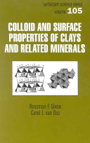 Colloid And Surface Properties Of Clays And Related Minerals Pdf/ePub eBook
