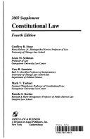 Constitutional Law 2002