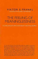 The Feeling of Meaninglessness