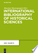 International Bibliography Of Historical Sciences 2006