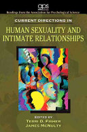 Current Directions in Human Sexuality and Intimate Relationships Book PDF