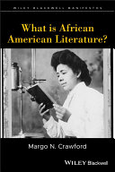What Is African American Literature  Book PDF