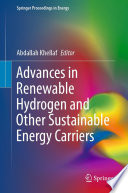 Advances in Renewable Hydrogen and Other Sustainable Energy Carriers