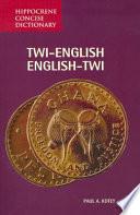 Twi-English/English-Twi Dictionary