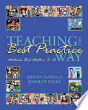 Teaching the Best Practice Way