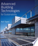 Advanced Building Technologies For Sustainability Book PDF
