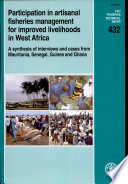 Participation In Artisanal Fisheries Management For Improved Livelihoods In West Africa Book PDF