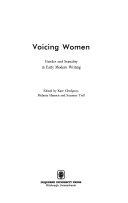 Voicing Women