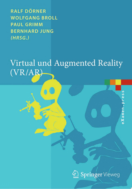 Virtual und Augmented Reality  VR   AR