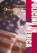 Policing In America Book PDF