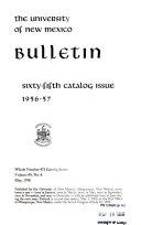 Annual Catalog Issue