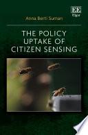 The Policy Uptake of Citizen Sensing Book