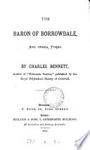 The baron of Borrowdale, and other poems