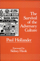 The Survival of the Adversary Culture ebook