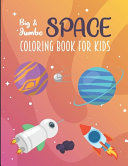 Big and Jumbo Space Coloring Book For Kids