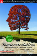 Pdf Transcendentalism: Essential Essays of Emerson and Thoreau: Literary Touchstone Classic
