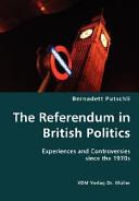 The Referendum In British Politics