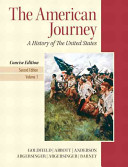 The American Journey   New Myhistorylab With Pearson Etext