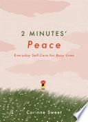 2 Minutes  Peace Book PDF