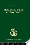 History and Social Anthropology