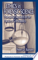 Ethics In Forensic Science Book PDF