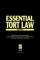 Essential Tort Law ebook