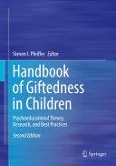 Handbook of Giftedness in Children Pdf/ePub eBook