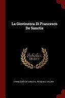 La Giovinezza Di Francesco de Sanctis