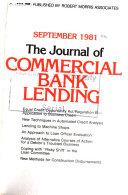 The Journal Of Commercial Lending