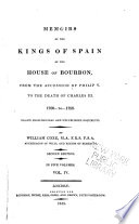foto de Memoirs of the Kings of Spain of the House of Bourbon: From the ...