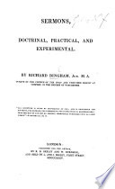 Sermons Doctrinal Practical And Experimental